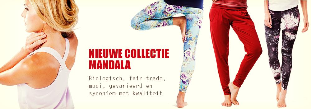 Mandala yoga kleding nieuw
