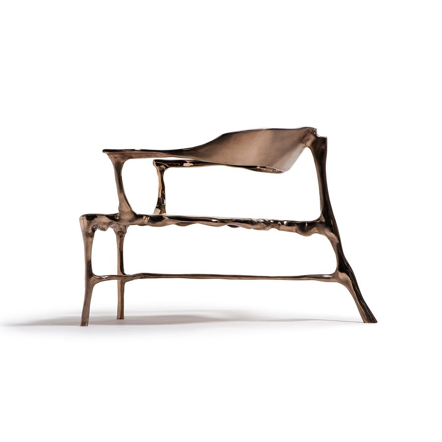 bronze age lounge chair