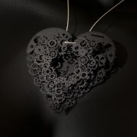 Clockwork Love Key Black Large