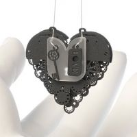 Clockwork Love Key Black Small