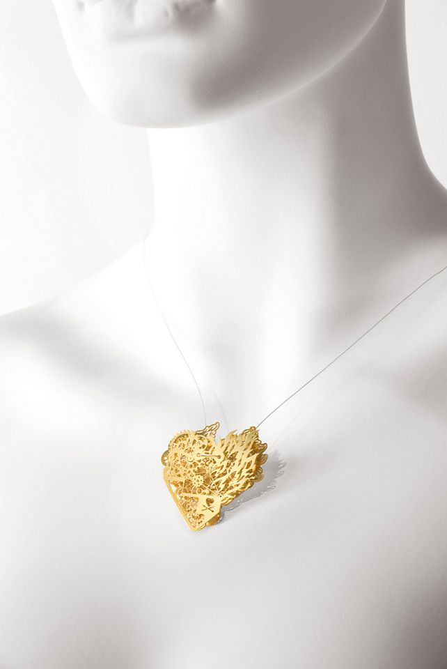 Clockwork Love Burning Gold Small