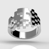 Invader Hoshi Ring