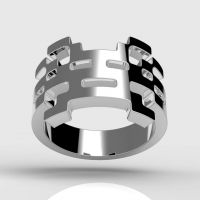 Invader Kiku Ring