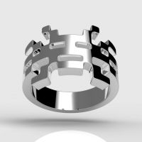 Invader Yuki Ring