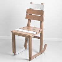 Hendrick's Oak Chair