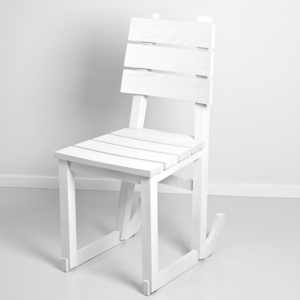 Hendrick's White Chair