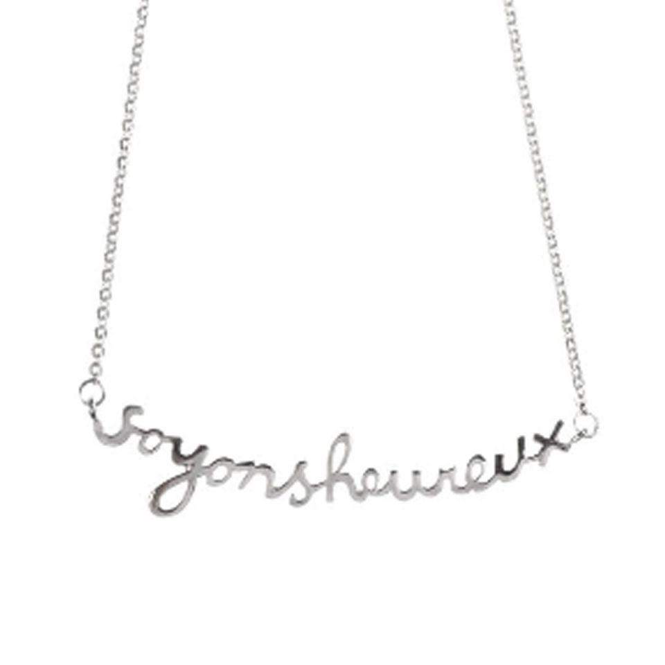 Necklace 'Soyons Heureux'