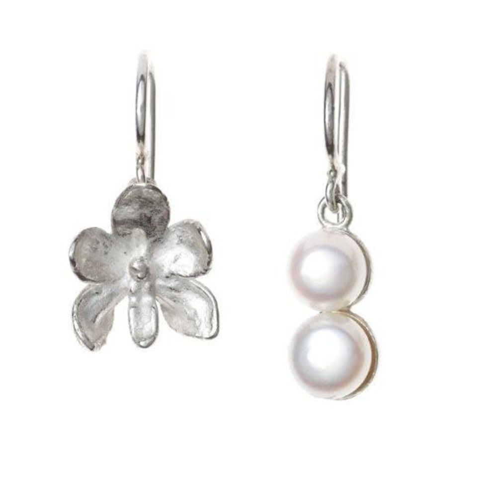 "Earrings   ""Jasmine & Pearl"""